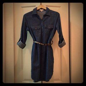Dresses & Skirts - Denim Dress with Belt